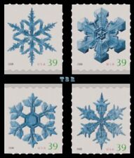 4113-16 4116 Holiday 2006 Snowflakes Singles From ATM Pane Set 4 MNH - Buy Now