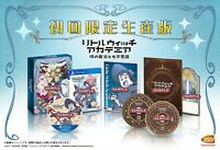 Little Witch Academia First Press Limited Edition PS4 Video game From Japan USED