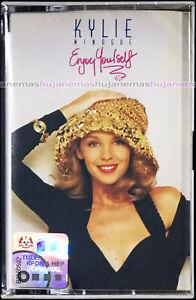 KYLIE MINOGUE Enjoy Yourself 1989 MALAYSIA EDITION CASSETTE VERY RARE(2nd Album)