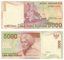 Indonesia 5000 Rupiah 2011 Replacement P-142k Banknotes UNC
