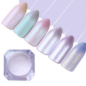 Nail Art  Pearl Powder Shiny Glitter Mirror Matte Pigment Dust Decoration
