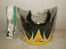 Black, Yellow & Silver Replacement Visor for M2R SZ90 and SX95 Helmets - NEW!!!