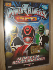 DVD N° 4 POWER RANGERS S.P.D. SPD MINACCIA SOTTERRANEA