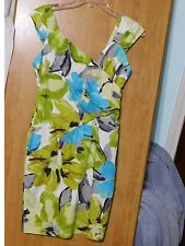 LADIES FLORAL SUNDRESS BY LIZ CLAIBORNE PETITE / SIZE 6P