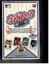 1991 UPPER DECK HIGH SERIES BOX 36 PACKS HANK AARON HEROES AUTOGRAPH BO JACKSON