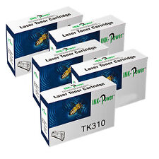 5 Black Toner Cartridge For Kyocera FS-2000D FS-2000dn FS-3900DN FS-4000DN