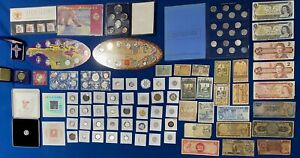 Canada & US Coin & Token & Banknote Estate Lot! Includes Silver SEE PICTURES!