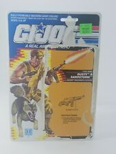 VINTAGE 1980S G.I. JOE ARAH DUSTY AND SANDSTORM CARDBACK - NO RESERVE! -