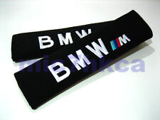 2x soft car seat belt harness cushion cover pads for M SPORT BMW (UK stock)