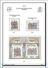 Album de timbres France 2015 à imprimer