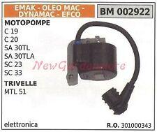 Bobina accensione EMAK per motopompe c19 20 sa 30TL 30TLA SC 23 33 OLEOMAC EFCO