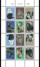Sint Maarten - Postfris / MNH - Sheet Monkeys 2015