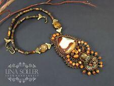 Halsketten und Anhänger mit Edelsteinen natürliche runde