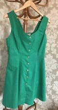 Emerald Green Dress. Size 12. Lace Up Back.