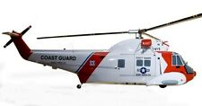 Sikorsky HH-52 Seaguard SAR / Utility Helicopter Desktop Wood Model Big New