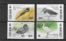 HONG KONG 1997 Birds set of 4 MINT NH
