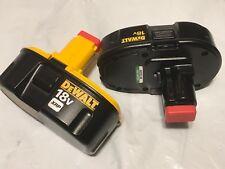 Dos, Dewalt 18v Baterías Xrp Dc9096 y Compacto Dc9099,Nuevo