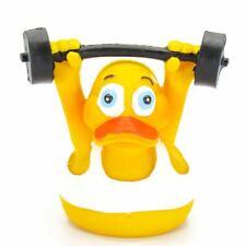 Weightlifter Work Out Rubber Duck
