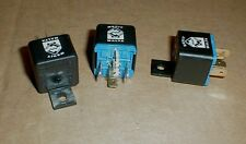 Maserati Biturbo FUSED  RELAY Replacement set 3pcs New  313353106A