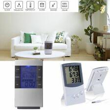 die einrichtung kalender wecker hygrometer lcd temperaturstation thermometer