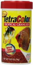 Tetra Tropical XL Color Granules with Natural Color Enhancer  2.65-Ounce 2 pack