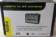 Tape to PC USB Cassette MP3 CD Digital File Converter Capture Audio Music Player