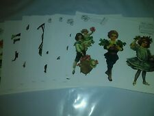 The Gretna Collection Reproduction Vintage Paper Doll Images 27 sheets series 1