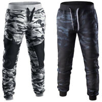 Men's Casual Jogger Sport Long Pants Camouflage Fitness Trousers Gym Sweatpants