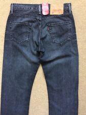 """Levi's 504 Uomo Regolari Gamba Dritta Jeans Grigio, W29"""", L32"""", £ 90"""