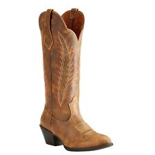 73af62c004 Ariat Women's Desert Sky Vintage Bomber Boot - Medium Toe Brown 9.5 M