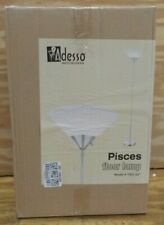 "Adesso 7501-22 Pisces 73"" Torchiere, Steel, Smart Outlet Compatible"