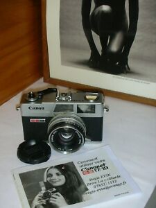 Superbe CANON Canonet QL 17 GIII made in Japan
