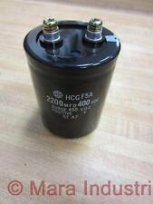 Hitachi HCG F5A Capacitor HCGF5A 2200MFD /400VDC
