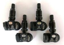 Set 04 sensori di pressione TPMS black programmati per NISSAN QASHQAI J11