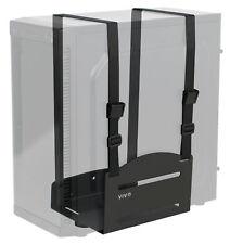 VIVO Universal PC Adjustable Wall Mount Steel Bracket Computer Case Strap Holder