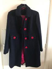 Boden 100% Wool Coat Bnwot Size 12