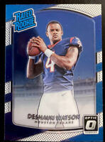 🔥 Deshaun Watson RC 2017 Donruss Optic Rated Rookie Card #195 CENTERED Clean!