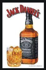 Barspiegel Jack Daniels Flasche,  20 x 30 cm Retro, Nostalgie, Werbung