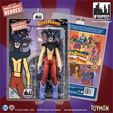SUPER FRIENDS SERIES 4; TOYMAN  8 INCH ACTION FIGURE MOSC NEW MINT