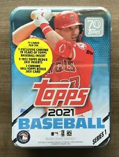 2021 Topps Series 1 Collectible Tin Factory Sealed ~ Pick your Player