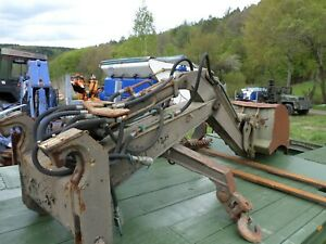 Anbaubagger  für Ahlmann AS 12 B Radlader  aus Bundeswehr bestand