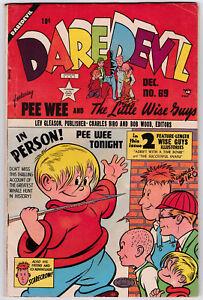 Daredevil Comics # 69 Lev Gleason (1950) FN/VF