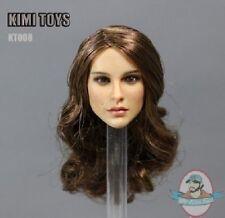 1/6 Kimi Toyz Accessories European & American Female Headsculpt Kt-008