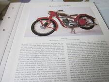 MOTO archives histoire 1201 JAWA 250 1946