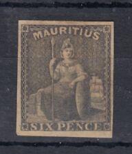 Mauritius 1859 6d SG33 MH