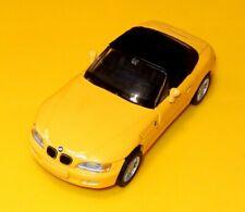 BMW Werbemodell (SCHUCO?) BMW Z3 Cabrio mit Softtop, GELB, 1/43, mint