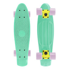 Cal 7 Mint and Pink Complete Mini Cruiser Plastic Skateboard for Christmas