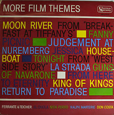 "OST - MORE PELÍCULA TEMAS - MOON RIVER - LA STRADA - KING OF KINGS 12"" LP (Q746)"