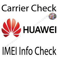 Check Huawei imei info - Carrier Network Country Warranty Info Check Fast