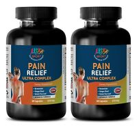 Back Pain Therapy - PAIN RELIEF ULTRA COMPLEX 610MG 2B - Turmeric Bromelain